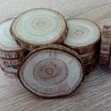 Fakorong - szivarfa, Fa, Famegmunkálás, 3-6 cm átmérő, 7 mm vastag fakorong. 1 csomag 12 darabot tartalmaz. Az Egyesült Államok délkeleti r..., Alkotók boltja