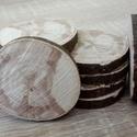 Fakorong - mogyoró, Fa, Egyéb fatermék, Famegmunkálás, 3 - 6 cm átmérőjű 7 mm vastag fakorongok. 1 csomag 12 db-ot tartalmaz. Bokorméretűvé növekszik. Egy..., Alkotók boltja