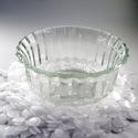 Gyertyatálka, Díszíthető tárgyak, Vegyes alapanyag, Üveg, Gyertya, - 150ml űrtartalom  - 100-120 gr viasz kényelmesen elfér benne  Ha vásárolsz a pohár mellé ka..., Alkotók boltja