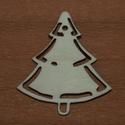 Fa natúr karácsonyfa - 3 db - 100 Ft/db, Dekorációs kellékek, Fa, Fából készült natúr karácsonyfa. Az ár 3 db-ra együtt értendő.  Mérete: 5 cm  Kérésre t..., Alkotók boltja