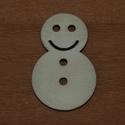 Fa natúr hóember - 4 db - 80 Ft/db, Dekorációs kellékek, Fa, Fából készült natúr hóember. Az ár 4 db-ra együtt értendő.  Mérete: 5 cm  Kérésre tetsz..., Alkotók boltja