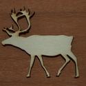Fa rénszarvas - 2 db - 150 Ft/db, Dekorációs kellékek, Fa, Fából készült natúr szán. Az ár 2 db-ra együtt értendő.  Mérete: 5 cm  Kérésre egyedi m..., Alkotók boltja