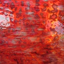 Uroboros jellegű díszüveg sárga, piros színekben, Üveg, Üvegművészet, Tiffany, Gyűrűfoltos (Uroboros jellegű) díszüvegek különböző színekben: sárgás- piros árnyalatokban. Üvegek ..., Alkotók boltja