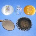 Ékszer és kerámia matrica(5.minta/6db), Gyöngy, ékszerkellék, Üveggyöngy, Alkotók boltja