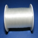 Damil (0,8 mm/1 db), Gyöngy, ékszerkellék, Egyéb alkatrész, Damil - színtelen  Kiváló minőségű, nagyon erős, fűzésre alkalmas damil. Mérete: 0,8 mm A tekercsen ..., Alkotók boltja