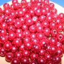 Viaszgyöngy 4mm(bordó), Gyöngy, ékszerkellék, Üveggyöngy, Ékszerkészítés, Gyöngy, Viaszgyöngy 4mm(bordó) A csomag tartalma kb.230db viaszgyöngy vagy más néven üveg tekla. 25gr., Alkotók boltja
