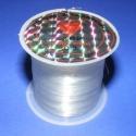 Damil (0,3 mm/1 db), Gyöngy, ékszerkellék, Egyéb alkatrész, Damil - színtelen  Kiváló minőségű, nagyon erős, fűzésre alkalmas damil. Mérete: 0,3 mm A ..., Alkotók boltja