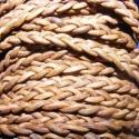 Fonott bőrszíj - 5x2 mm (4. minta - LAPOS/0,5 m) - világosbarna, Gyöngy, ékszerkellék, Egyéb alkatrész, Ékszerkészítés, Mindenmás, Fonott bőrszíj - 5x2 mm (4. minta - LAPOS/0,5 m) - világosbarnaMérete:5x2mm. Valódi bőr alapanyagbó..., Alkotók boltja