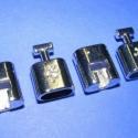 Kapocs(317.minta 2db), Kapocs(317.minta 2db) nikkel  színben.A kapocs elsősorban bőr karperecek készítéséhez haszná..., Alkotók boltja