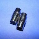 Mágneses kapocs (319. minta/2 db) - nikkel, Mágneses kapocs (319. minta) - nikkel színben  A kapocs elsősorban bőr karperecek készítéséh..., Alkotók boltja