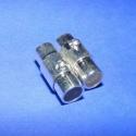 Kapocs(320.minta 2db), Mágneses kapocs(320.minta 2db) ezüst  színben.A kapocs elsősorban bőr karperecek készítéséh..., Alkotók boltja