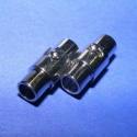 Kapocs(321.minta 2db), Mágneses kapocs(321.minta 2db) nikkel  színben.A kapocs elsősorban bőr karperecek készítéséh..., Alkotók boltja