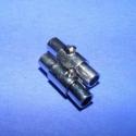 Kapocs(323.minta 2db), Mágneses kapocs(323.minta 2db) nikkel  színben.A kapocs elsősorban bőr karperecek készítéséh..., Alkotók boltja