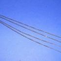 Szerelt lánc (4. minta/1 db) -  1,5x2 mm x 66 cm, Gyöngy, ékszerkellék, Egyéb alkatrész, Szerelt lánc (4. minta) - bronz színben  A szem mérete: 1,5x2 mm A lánc hossza: 66 cm  A feltün..., Alkotók boltja