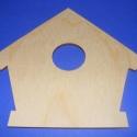 Fa madárházikó(1-s kör/1db), Csináld magad leírások, Egyéb alkatrész, Decoupage, szalvétatechnika, Famegmunkálás, Szerelékek, Fa madárházikó(1-s kör/1db) A fa alapból egyéni függődíszeket,fali dekorációkat készíthetünk. Méret..., Alkotók boltja
