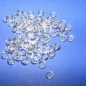 Szerelőkarika (1012. minta/100 db), Szerelőkarika (1012. minta) - szimpla - ezüst színben  Mérete: 5x0,7 mm  Az ár 100 db termékre vonat..., Alkotók boltja