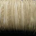 Bronz színű lánc (33. minta/1 m) - 1x1x0,5 mm, Gyöngy, ékszerkellék, Egyéb alkatrész, Bronz színű lánc (33. minta)  Erős, nem szakad. A szem mérete: 1x1x0,5 mm A feltüntetett ár 1..., Alkotók boltja