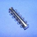 Csőkapocs(330.minta 1db), Mágneses csőkapocs,5 soros(330.minta 1db) nikkel  színben. Mérete 30 mm.  Az ár 1db termékre v..., Alkotók boltja
