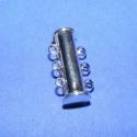 Csőkapocs(331.minta 1db), Mágneses csőkapocs,3 soros(331.minta 1db) nikkel  színben. Mérete 20 mm.  Az ár 1db termékre v..., Alkotók boltja
