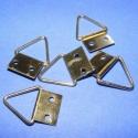Képakasztó (2. minta/5 db) - 17x13 mm, , Mindenmás, Képakasztó (2. minta) - arany  Mérete: 17x13 mm (teljes hossz az akasztó résszel) A rögzítő lap mér..., Alkotók boltja