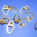 Képakasztó (5. minta/10 db) - 20x13 mm, Képakasztó (5. minta) - arany  Mérete: 20x13 mm (teljes hossz az akasztó résszel)  Az ár 10 da..., Alkotók boltja