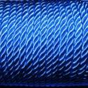 Sodrott zsinór - 5 mm (ZS91/2 m) - kék, Fonal, cérna, Ékszerkészítés, Kötés, horgolás, Sodrott zsinór (ZS91) - kék  Színes nylon sodrott zsinór Ajánlott karkötők, nyakláncok készítéséhez..., Alkotók boltja