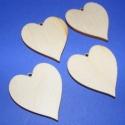 Fa füli alap(nyújtott szív /4db), Gyöngy, ékszerkellék, Egyéb alkatrész, Ékszerkészítés, Famegmunkálás, Szerelékek, Fa füli alap(nyújtott szív/4db) Mérete 35x40mm. Az ár 4db füli alapra vonatkozik., Alkotók boltja