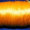"""Szatén zsinór - 2 mm (ZS28/A minta/5 m) - napsárga, Fonal, cérna, Ékszerkészítés, Kötés, horgolás, Szatén zsinór - más néven """"patkányfarok"""" (ZS28/A minta) - napsárga  Kiválóan alkalmas fonási techni..., Alkotók boltja"""
