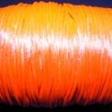 """Szatén zsinór - 2 mm (ZS29/C minta/5 m) - neon korallpiros, Fonal, cérna, Ékszerkészítés, Kötés, horgolás, Szatén zsinór - más néven """"patkányfarok"""" (ZS29/C minta) - neon korallpiros  Kiválóan alkalmas fonás..., Alkotók boltja"""