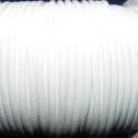 Viaszos zsinór - 3 mm (ZS37. minta/1 m) - fehér, Fonal, cérna, Kötés, horgolás, Ékszerkészítés, Viaszos zsinór (ZS37. minta) - fehér  Nyakbavaló alap, karkötő alap alapanyaga. Fonáshoz, de bármil..., Alkotók boltja