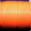 Viaszos zsinór - 2 mm (ZS45. minta/2 m) - narancssárga, Fonal, cérna, Kötés, horgolás, Ékszerkészítés, Viaszos zsinór (ZS45. minta) - narancssárga  Nyakbavaló alap, karkötő alap alapanyaga. Fonáshoz, de..., Alkotók boltja