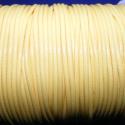Viaszos zsinór - 2 mm (ZS42. minta/2 m) - sárga, Fonal, cérna, Kötés, horgolás, Ékszerkészítés, Viaszos zsinór (ZS42. minta) - sárga  Nyakbavaló alap, karkötő alap alapanyaga. Fonáshoz, de bármil..., Alkotók boltja