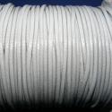 Viaszos zsinór - 2 mm (ZS55A minta/2 m) - szürke, Fonal, cérna, Kötés, horgolás, Ékszerkészítés, Viaszos zsinór (ZS55A minta) - szürke  Nyakbavaló alap, karkötő alap alapanyaga. Fonáshoz, de bármi..., Alkotók boltja