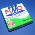 Fimo gyurma(53-vil.zöld/1db), Vegyes alapanyag, Egyéb alapanyag, Gyurma, Fimo, Fimo gyurma(53-vil.zöld/1db)Mérete 55x55mm,a súlya 56gr. Az ár 1db gyurmára vonatkozik. Felhasználá..., Alkotók boltja