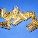 Gyöngykupak (26. minta/10 db) - 16x10 mm, Gyöngy, ékszerkellék, Egyéb alkatrész, Alkotók boltja