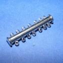 Csőkapocs(331/D.minta 1db), Mágneses csőkapocs,7 soros(331/D.minta 1db) nikkel  színben. Mérete 35 mm.  Az ár 1db termékre..., Alkotók boltja