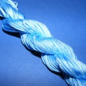 Színes zsinór - 2 mm (ZS31. minta/12 m) - világoskék, Fonal, cérna, Ékszerkészítés, Kötés, horgolás, Színes zsinór (ZS31. minta) - világoskék Mérete: 2 mm/12 m  Hasonlít a viaszos szálhoz, csak attól ..., Alkotók boltja