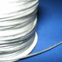 """Szatén zsinór - 1,5 mm (ZS151. minta/5 m)  - fehér, Fonal, cérna, Ékszerkészítés, Kötés, horgolás, Szatén zsinór (ZS151. minta) - fehér - más néven """"patkányfarok""""  Kiválóan alkalmas fonási technikák..., Alkotók boltja"""