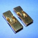 Kapocs (318/B minta/2 db), Kapocs (318/B minta) - arany színben  A kapocs elsősorban bőr karperecek készítéséhez haszná..., Alkotók boltja