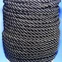 Sodrott zsinór - 8 mm (ZS1S/1 m) - fekete, Fonal, cérna, Ékszerkészítés, Kötés, horgolás, Sodrott zsinór (ZS1S) - fekete  Színes nylon sodrott zsinór Ajánlott karkötők, nyakláncok készítésé..., Alkotók boltja