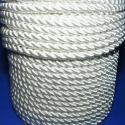 Sodrott zsinór - 8 mm (ZS00S/1 m) - fehér, Fonal, cérna, Sodrott zsinór (ZS00S) - fehér  Színes nylon sodrott zsinór Ajánlott karkötők, nyakláncok készítéséh..., Alkotók boltja