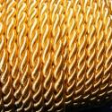 Sodrott zsinór - 6 mm (ZS28S/2 m) - aranysárga, Fonal, cérna, Ékszerkészítés, Kötés, horgolás, Sodrott zsinór (ZS28S) - aranysárga  Ajánlott karkötők, nyakláncok készítéséhez, de más dekorációs ..., Alkotók boltja