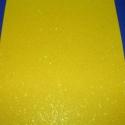 Glitteres dekorgumi  (sárga/1db), Vegyes alapanyag, Dekorgumi, Mindenmás, Glitteres dekorgumi (sárga/1db) Kiváló lehetőséget biztosít kreatív dekorációk,egyéni elképzelések ..., Alkotók boltja