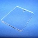 Akril medál alap-8 (40x30 cm/3 db) - téglalap - fúrt - álló, Üveg, Gyöngy, ékszerkellék, Ékszerkészítés, Akril medál alap-8 - téglalap - álló - fúrt  Mérete: 40x30x2 mm  Az anyag víztiszta (mindkét oldala..., Alkotók boltja