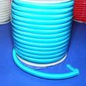 Üreges nylon zsinór - 5 mm (ZSR004-09/1 m) - világoskék, Fonal, cérna, Ékszerkészítés, Kötés, horgolás, Üreges nylon zsinór  (ZSR004-09) - világoskék  Ajánlott karkötők, nyakláncok készítéséhez, de más d..., Alkotók boltja