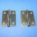 Zsanér (4. minta/2 db) - 25x18 mm, Szerszámok, eszközök, Ékszerkészítés, Fémmegmunkálás, ötvösség, Szerelékek, Zsanér (4. minta) - antik bronz színben  A zsanér mérete: 25x18 mm A furat mérete: 3 mm  Az ár 2 da..., Alkotók boltja