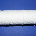 PP-7 színes zsinór (fehér/1 tekercs), Fonal, cérna, Ékszerkészítés, Kötés, horgolás, PP-7 (polipropilén) színes zsinór - fehér  Mérete: 1-1,5 mm/100 méter  Karkötőkhöz, zsinórfonási te..., Alkotók boltja