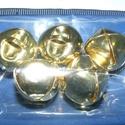Arany csörgő (4. minta/5 db) - 18 mm, Vegyes alapanyag, Mindenmás, Arany csörgő (4. minta) - arany színben  Mérete: 18 mm Az ár 5 darab termékre vonatkozik. , Alkotók boltja