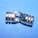 Kapocs, csatlakozó(1353.minta 1db), Kapocs(1353.minta 1db)platinum  színben.A kapocs elsősorban bőr karperecek készítéséhez haszn..., Alkotók boltja