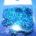 Flitter-39 (3 g) - hologramos kék (virág), Gyöngy, ékszerkellék, Flitter, strassz, Mindenmás, Flitter-39 - kék - hologramos virág  Mérete:  ? 12 mm A furat mérete: 1 mm  Kiszerelés: 3 g (kb. 10..., Alkotók boltja